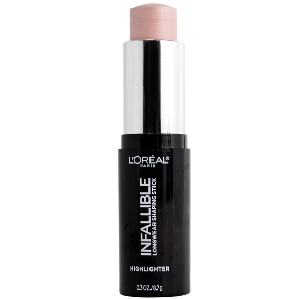 Loreal Infallible Longwear Highlighter Shaping Stick - 41 Slay in Rose