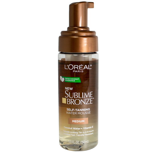 Loreal Sublime Bronze Hydrating Self-Tanning Water Mousse - Medium