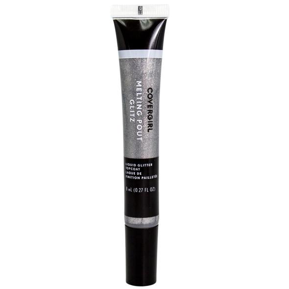Cover Girl Melting Pout Glitz Liquid Glitter Topcoat - 405 Double Platinum