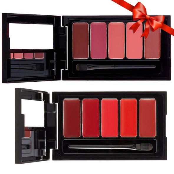 Loreal La Palette Lip 5-Pan Lipcolor Palette 2-Pack