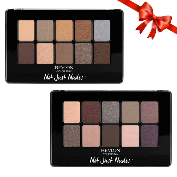 Revlon Colorstay Not Just Nudes 10-Pan Eye Shadow Palette 2-Pack