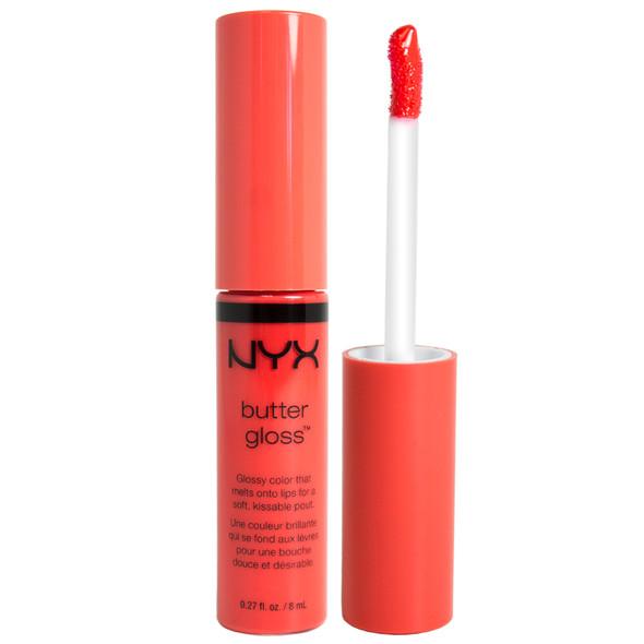 NYX Butter Lip Gloss - 06 Peach Cobbler