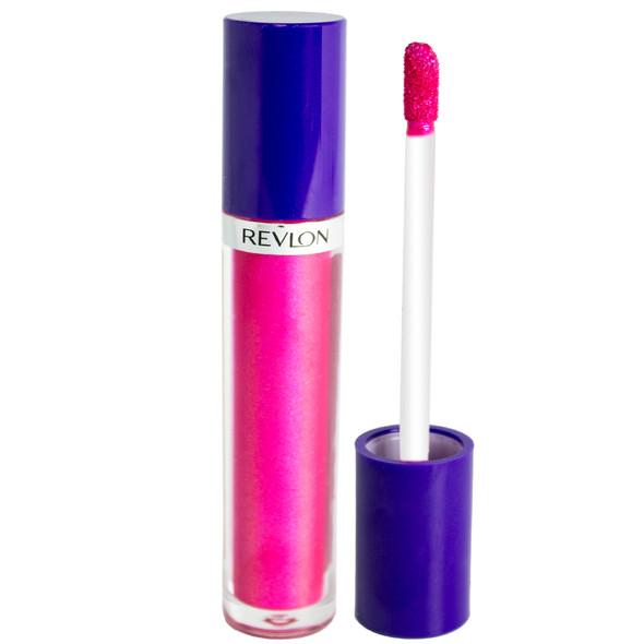 Revlon Electric Shock Lip Lacquer - 201 100 Watts Pink