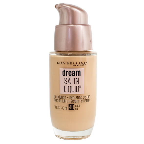 Maybelline Dream Satin Liquid Foundation - 40 Nude