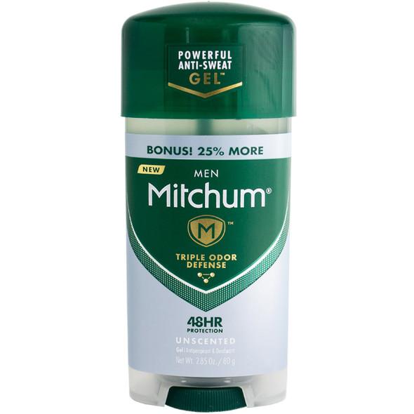 Mitchum Men Gel Anti-Perspirant & Deodorant 2.85 oz - Unscented