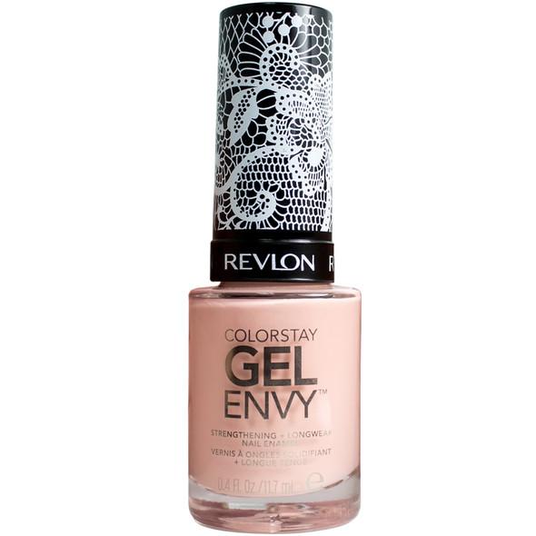 Revlon X Ashley Graham ColorStay Gel Envy Lingerie Nail Enamel - 802 Un-Peach Me