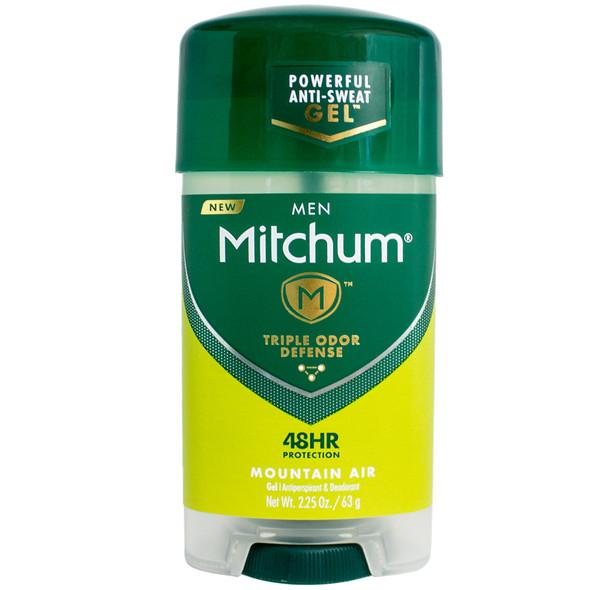 Mitchum Men Triple Odor Defense Gel Antiperspirant & Deodorant, Mountain Air 2.25 oz