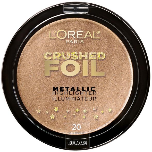 Loreal Crushed Foil Metallic Highlighter - 20