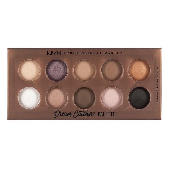 NYX Dream Catcher 10-Pan Eyeshadow Palette - Golden Horizons