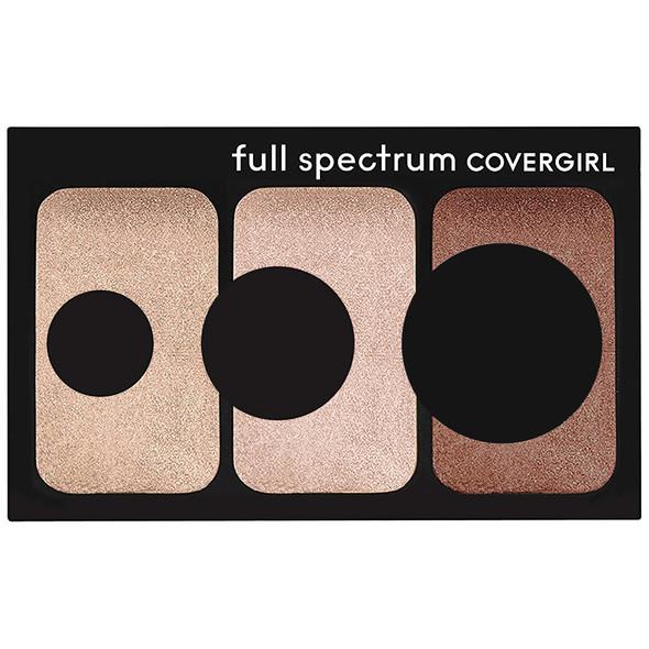 Cover Girl Full Spectrum Sculpt Expert Cheek Palette - 200 Bronze Flame