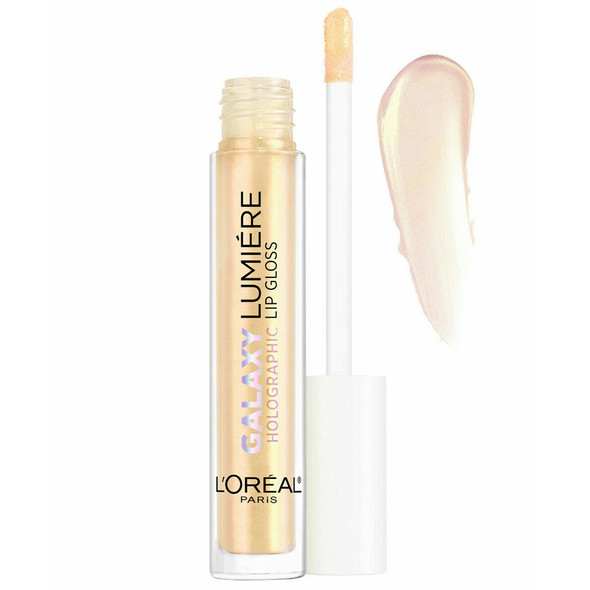 Loreal Infallible Galaxy Lumiere Holographic Lip Gloss