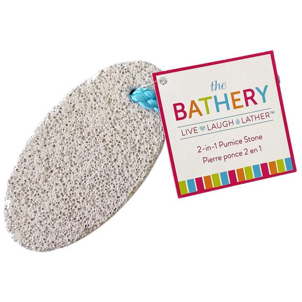 The Bathery 2-in-1 Pumice Stone
