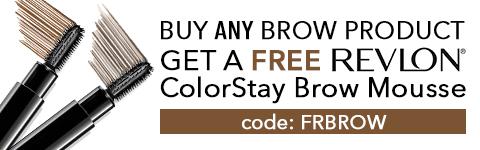 Free Revlon Brow Mousse
