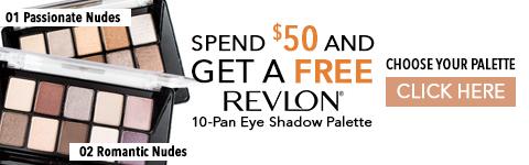 Free Revlon shadow palette