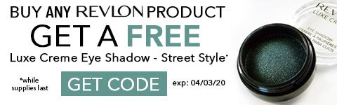 Free Revlon Eye Shadow