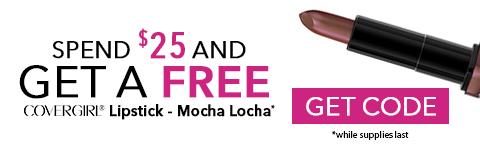 Free Cover Girl Lipstick