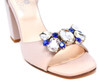 Sofia - Leather Block Heeled Sandals