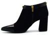Kiara - Suede Black Ankle Boots