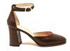 Debbie Croc Brown Shoe
