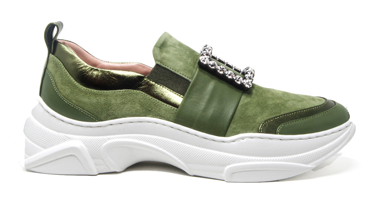 Gilda Olive Sneaker