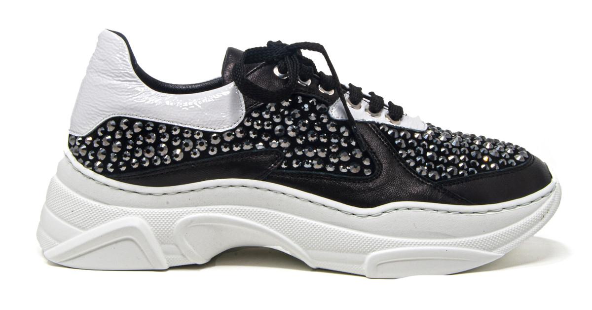 Malena Black Sneaker