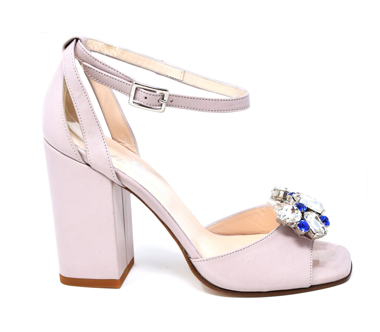 66eb94c4765a Sofia - Leather Block Heeled Sandals