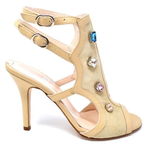 ESMERALDA - Classy Sandal with Rhinestones