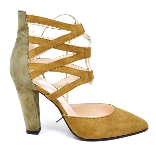 Giulia - Suede High Heels