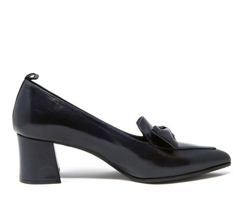 Chole Navy Nappa Shoe