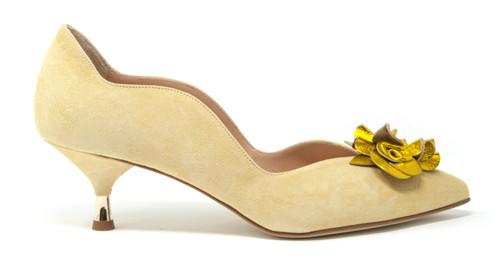 Teresa Canary Shoe