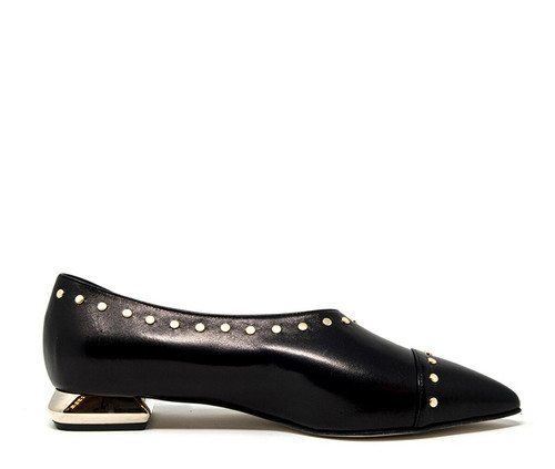Agata Black Shoe