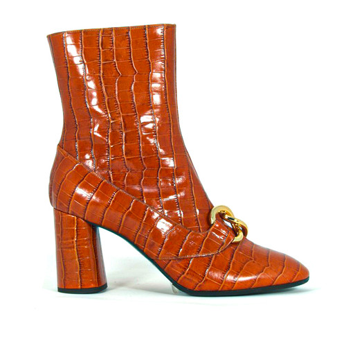 Siena Burnt Orange Bootie