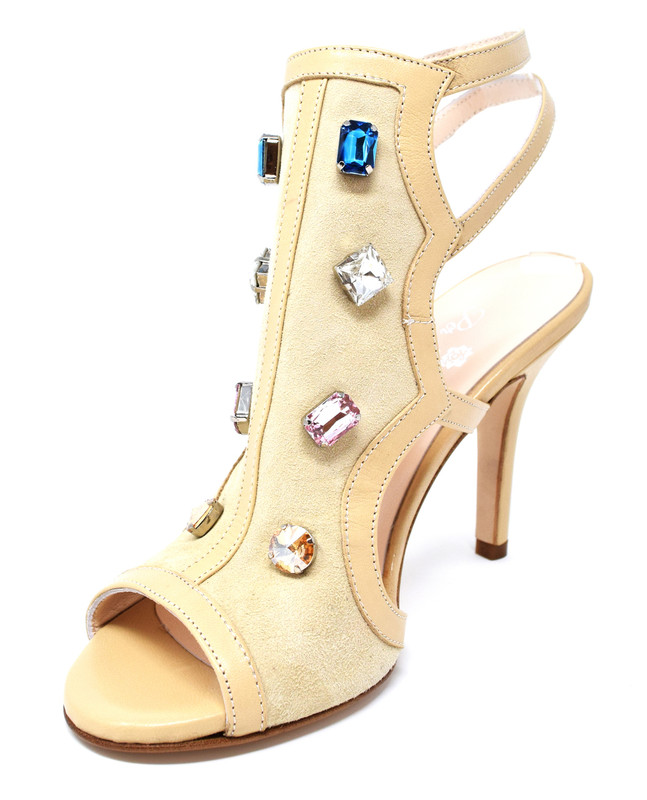 305f45b40e37 ... ESMERALDA - Classy Sandal with Rhinestones ...