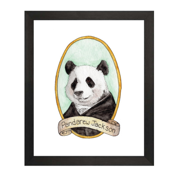 Pandarew Jackson / Andrew Jackson PreZOOdents Art Print
