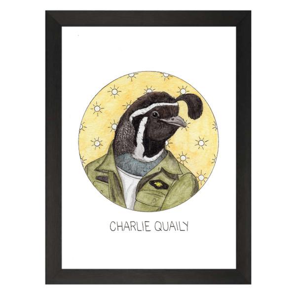 Charlie Quaily / Charlie Kelly / It's Always Sunny Petflix Art Print