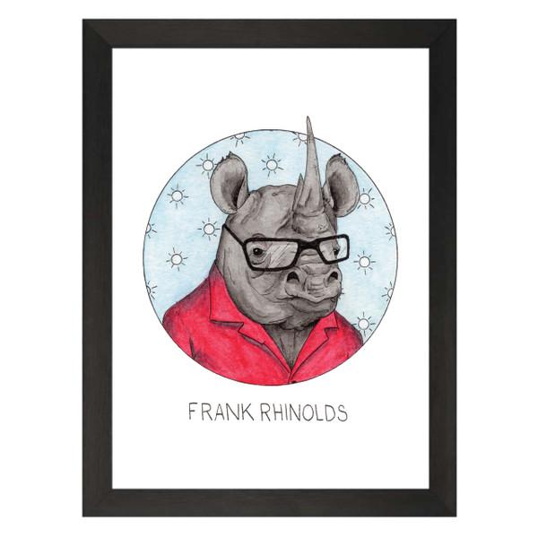 Frank Rhinolds / Frank Reynolds / It's Always Sunny Petflix Art Print