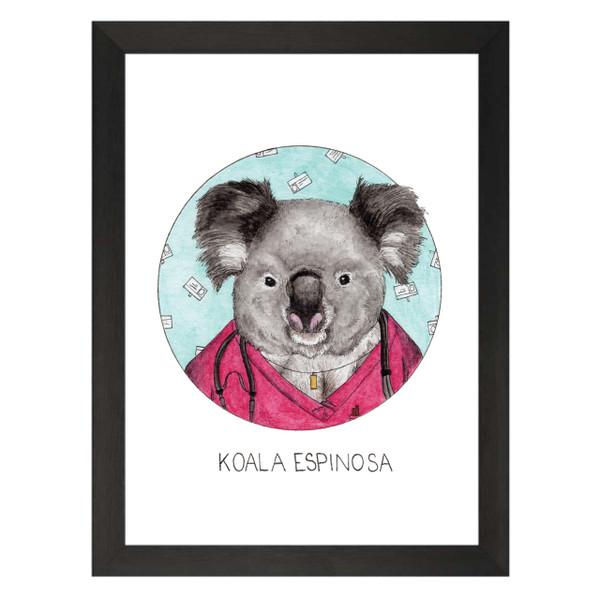 Koala Espinosa / Carla Espinosa / Scrubs Petflix Art Print