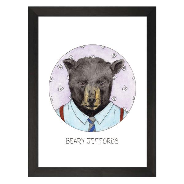 Beary Jeffords / Terry Jeffords / Brooklyn Nine-Nine Petflix Art Print