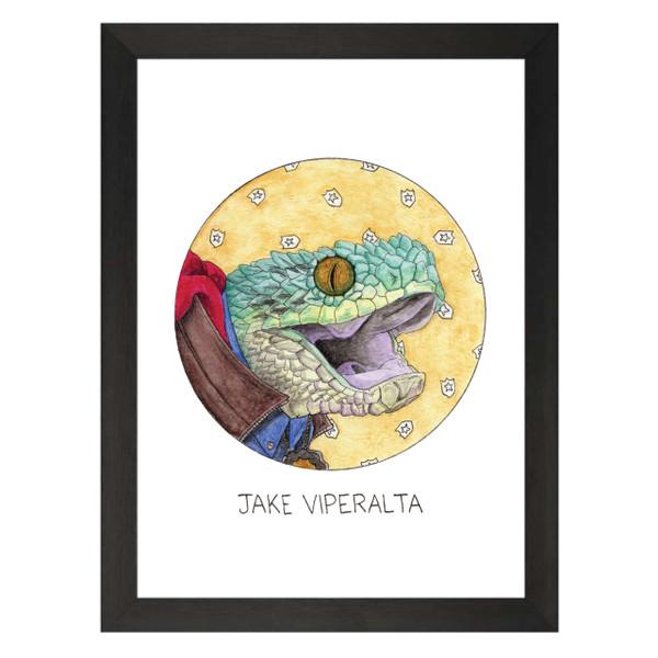 Jake Viperalta / Jake Peralta / Brooklyn Nine-Nine Petflix Art Print