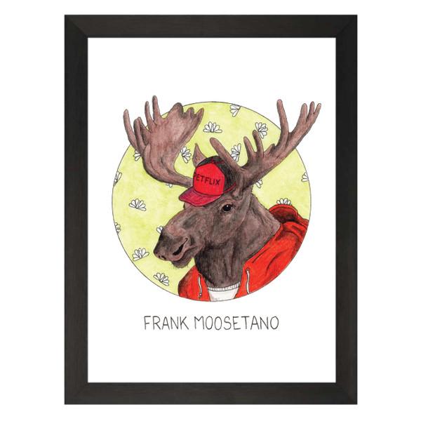 Frank Moosetano / Frank Rossitano / 30 Rock Petflix Art Print