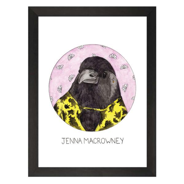 Jenna Macrowney / Jenna Maroney / 30 Rock Petflix Art Print