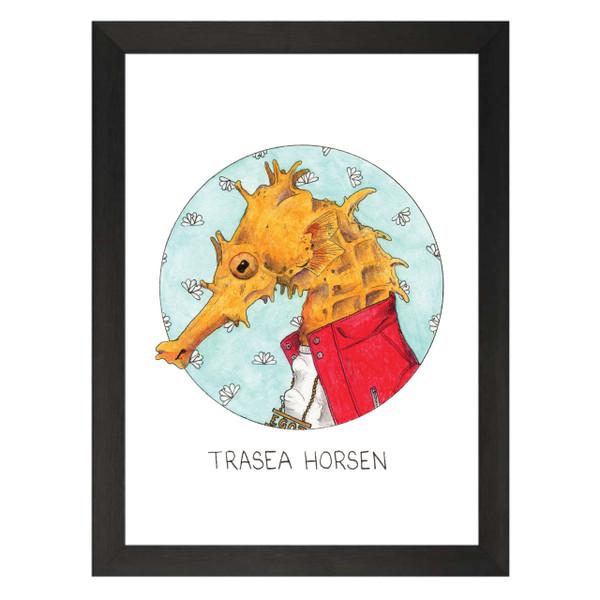 Trasea Horsen / Tracy Jordan / 30 Rock Petflix Art Print