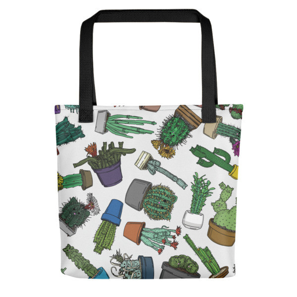 Catcus Tote bag