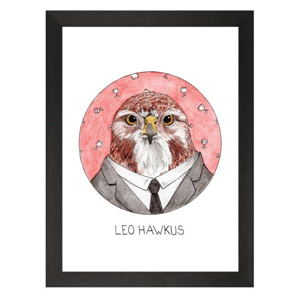Leo Hawkus / Leo Markus / Will & Grace Petflix Art Print