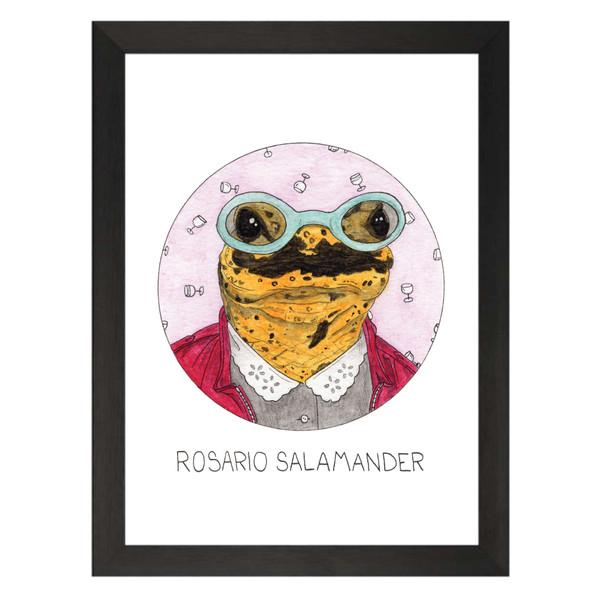 Rosario Salamander / Rosario Salazar / Will & Grace Petflix Art Print