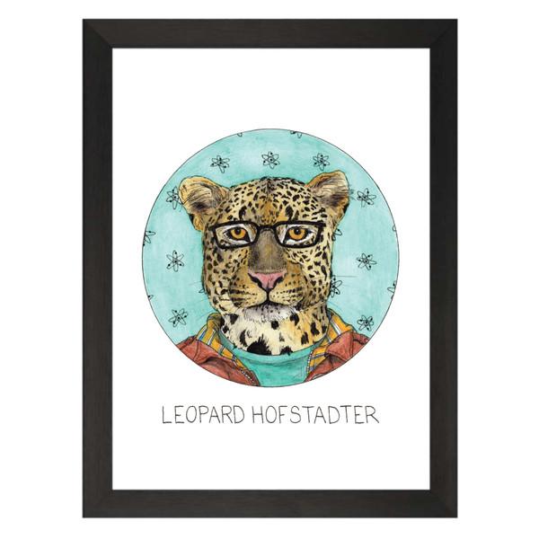 Leopard Hofstadter / Leonard Hofstadter / The Big Bang Theory Petflix Art Print