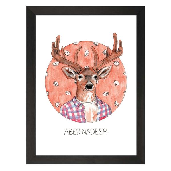 Abed Nadeer / Abed Nadir / Community Petflix Art Print