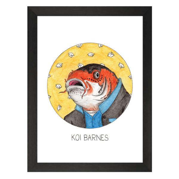Koi Barnes / Troy Barnes / Community Petflix Art Print