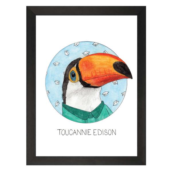 Toucannie Edison / Annie Edison / Community Petflix Art Print