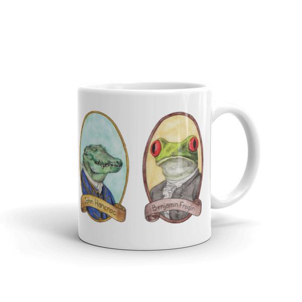 PreZOOdents Mug - Founding Fathers